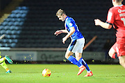 GOAL Steven Davies makes it 4-0 to Rochdale during the EFL Sky Bet League 1 match between Rochdale and Walsall at Spotland, Rochdale, England on 22 November 2016. Photo by Daniel Youngs.