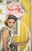 Model: Otilia Aionesei<br /> Dress: Marianna Barksdale<br /> Hat: Anya Caliendo Couture Millinery Atelier<br /> Earrings, necklaces, ring:  Clara Kasavina<br /> Shoes: Kilame design by Pamela Quinzi<br /> Hair: Kisha Marie<br /> Makeup: Chifumi Nambashi<br /> Stylist: Leonid Gurevich<br /> Stylist&rsquo;s assistants: Marina Gurevich, Michelle Ortega<br /> Producers: Matt Lennard, Miss Aniela