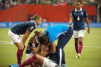 Deception France - Claire LAVOGEZ - 26.06.2015 - Allemagne / France - 1/4Finale Coupe du Monde 2015 -Montreal<br />