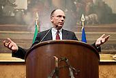 Consultations: Enrico Letta press conference