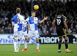 Tom Lockyer of Bristol Rovers heads clear - Mandatory by-line: Neil Brookman/JMP - 18/11/2017 - FOOTBALL - Memorial Stadium - Bristol, England - Bristol Rovers v AFC Wimbledon - Sky Bet League One