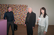 MICHAEL LANDY; MICHAEL CRAIG-MARTIN; GILLIAN WEARING, Damien Hirst, Tate Modern: dinner. 2 April 2012.