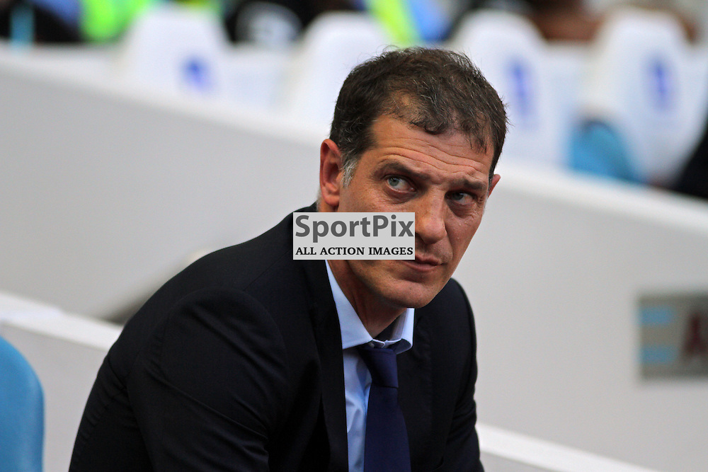 West Ham united manager Slaven Bilic During West Ham United vs Bournemouth FC on Saturday the 22nd August 2015