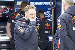 February 19, 2019 - Spain - Pierre Gasly (Aston Martin Red Bull Racing) seen during the winter test days at the Circuit de Catalunya in Montmelo  (Credit Image: © Fernando Pidal/SOPA Images via ZUMA Wire)
