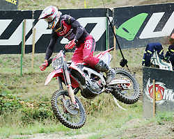 July 22, 2018 - Loket, Czech Republic - Tim GAJSER (SLO/Team HRC MXGP, Honda), .Motocross World Championship, MX 1, first race, .Loket, Czech Republic, July 22, 2018, (Credit Image: © Wolfgang Fehrmann via ZUMA Wire)