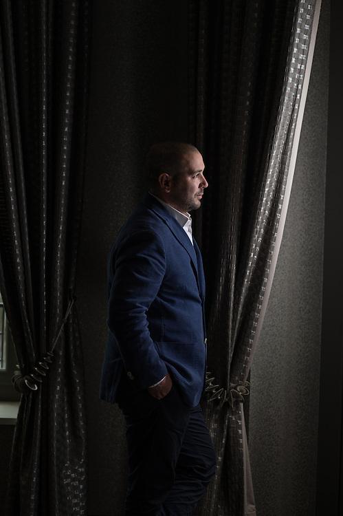Cyril Halifi, entrepreneur. Lausanne, 27 mai 2016.