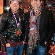 NLD/Haarlem/20121208 - Premiere Wreck - It Ralph, ???? en Jon van Eerd