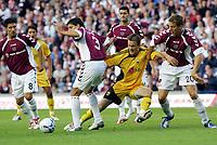 Fotball<br /> Foto: imago/Digitalsport<br /> NORWAY ONLY<br /> <br /> 09.08.2006  <br /> <br /> Pantelis Kapetanos (AEK Athen, 2.v.re.) gegen Panagiotis Fissas (2.v.li.), Christophe Berra (re.), Bruno Aguiar (li.) und Hristos Karipidis (alle Hearts of Midlothian)<br /> <br /> Champions League Qualifikation 2006/2007, Hearts of Midlothian - AEK Athen 1:2