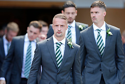 Celtic's Leigh Griffiths before the William Hill Scottish Cup Final at Hampden Park, Glasgow.