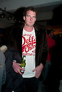 DAN SNOW Fired Up, Exhibition of work by Joe Clark, Lauren Cotton, Rory McCartney, David Jones and Farid Rasulov. Gazelli Art House. Wakefield st. London. WC1. 10 February 2011. -DO NOT ARCHIVE-© Copyright Photograph by Dafydd Jones. 248 Clapham Rd. London SW9 0PZ. Tel 0207 820 0771. www.dafjones.com.