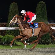 Nolecce and Jimmy Quinn winning the 7.15 race
