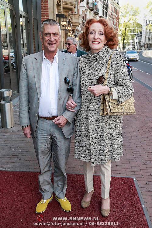 NLD/Amsterdam/20130428 - Premiere Jon en de Jongens, Vincent Steinmetz en Gerrie van der Klei