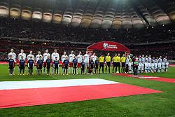 14.10.2014, Nationalstadium, Warsaw, POL, UEFA Euro Qualifikation, Polen vs Schottland, Gruppe D, im Bild POLSKA SZKOCJA - PREZENTACJA // during the UEFA EURO 2016 Qualifier group D match between Poland and Scotland at the Nationalstadium in Warsaw, Poland on 2014/10/14. EXPA Pictures © 2014, PhotoCredit: EXPA/ Newspix/ Lukasz Grochala<br /> <br /> *****ATTENTION - for AUT, SLO, CRO, SRB, BIH, MAZ, TUR, SUI, SWE only*****