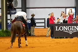 FONCK Bernard (BEL), What a Wave<br /> Tryon - FEI World Equestrian Games™ 2018<br /> Reining Finale Einzelentscheidung<br /> September 2018<br /> © www.sportfotos-lafrentz.de/Stefan Lafrentz