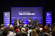 The Wall Street Journal The Future of Health Care Breakfast Interview featuring Bernard J. Tyson, Chairman and CEO of Kaiser Permanente in New York City on May 11, 2017. (photo by Gabe Palacio)