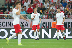 September 11, 2018 - Warsaw, Poland - Kamil Glik, Grzegorz Krychowiak of Poland reacts during the international friendly match between Poland and Republic of Ireland at the Stadion Miejski on September 11, 2018 in Wroclaw, Poland. (Credit Image: © Foto Olimpik/NurPhoto/ZUMA Press)
