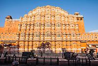 The Hawa Mahal in Jaipur, Rajasthan, India.