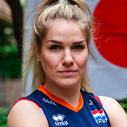 13-10-2018 JPN: World Championship Volleyball Women day 14, Nagoya<br /> Portraits Dutch Volleybal Team - Kirsten Knip #1 of Netherlands