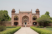India, Uttar Pradesh, Agra, Tomb of Itmad-Ud-Daulah's (also known as the Baby Taj Mahal)
