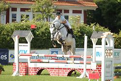 Korhonen, Laura, Travenort´s Cascanto<br /> Fehmarn - Holsteiner Masters<br /> Springpferde Kl. A, 5+6j. Pferde<br /> © www.sportfotos-lafrentz.de/ Stefan Lafrentz