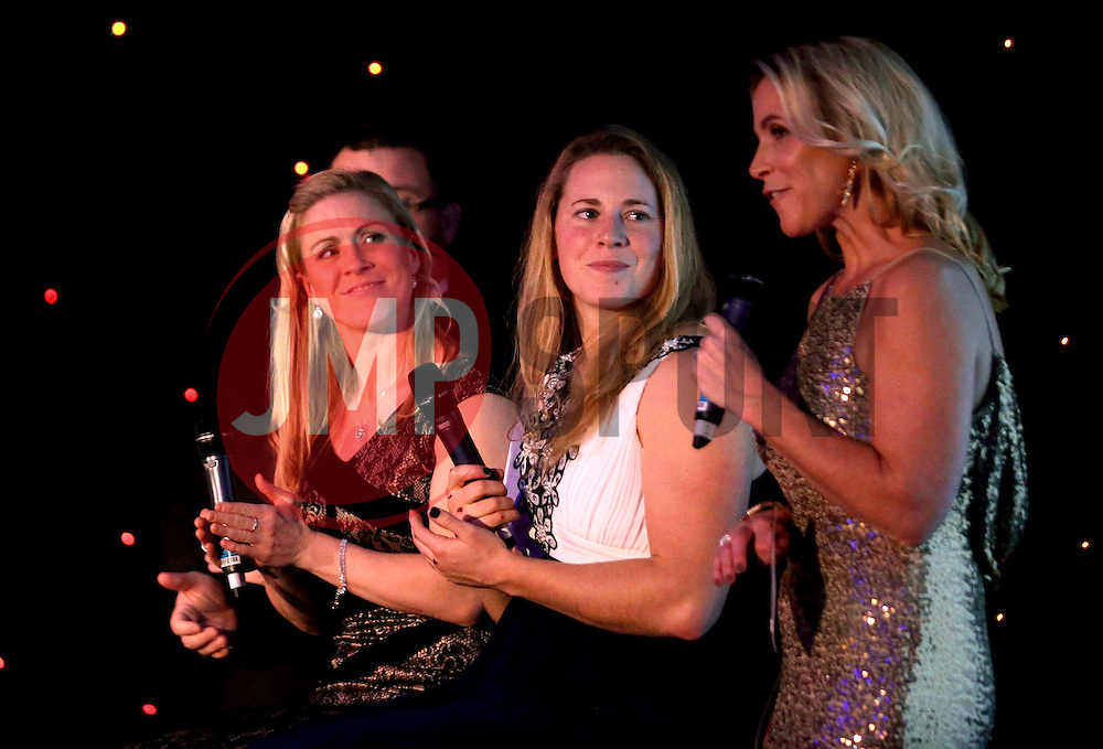 Bristol Ladies Rugby are interviewed on stage at Bristol Sport's Annual Gala Dinner at Ashton Gate Stadium  - Mandatory by-line: Robbie Stephenson/JMP - 08/12/2016 - SPORT - Ashton Gate - Bristol, England  - Bristol Sport Gala Dinner