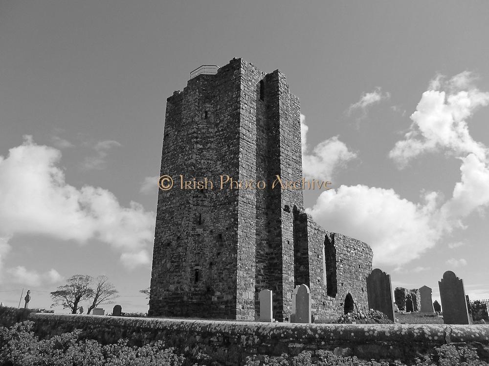 Baldongan Church and Tower, Skerries, Dublin, c.13th century a.d.