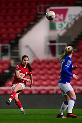 Olivia Chance of Bristol City clears the ball - Mandatory by-line: Ryan Hiscott/JMP - 17/02/2020 - FOOTBALL - Ashton Gate Stadium - Bristol, England - Bristol City Women v Everton Women - Women's FA Cup fifth round