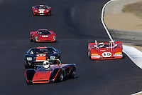 MONTEREY, CA - AUGUST 18: The 1965-1972 FIA Mfg. Championship cars race at the Monterey Historic Automobile Races at the Mazda Raceway Laguna Seca on August 18, 2007 in Monterey, California.  (Photo by David Paul Morris)