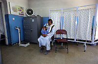 KABUL 14 August 2005....Shabana is admitted to Maiwand Hospital for Plastic Surgery.....Shabana. a nine months old Afghan girl, has been diagnosed with a 'neurofibroma'. This is a tumor or growth located along a nerve or nervous tissue. It is an inherited disorder. If left unchecked, a neurofibroma can cause severe nerve damage leading to loss of function to the area stimulated by that nerve.....The Rehabilitative Surgery Unit (RSU) at Maiwand Hospital is fully supported by the French NGO Medical Refresher Courses for Afghans (MRCA), also by the French Minister of Foreign Affairs, and by the Embassy of Japan under the Grant Assistance for Grassroots Project (GAGP). The Italian NGO Operation Smile Italia Onlus provides training to the Doctors. ....Maiwand Hospital dates back to the rein of Nadir Shah in the 1930s.