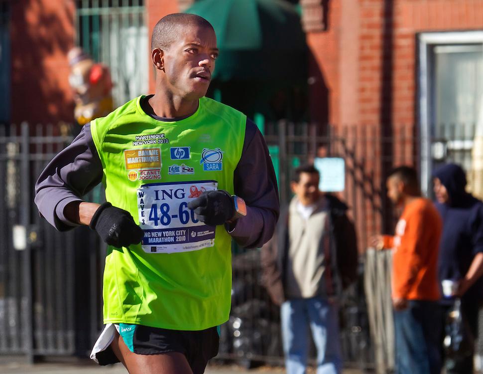 Runner, NYC Marathon, 2010.
