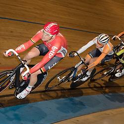 20-12-2015: Wielrennen: NK Baan: Alkmaar<br />ALKMAAR (NED) baanwielrennen   <br />Pim Ligthart, Martijn Tusveld, Wim Stroetinga, Jesper Asseleman