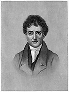 Charles Lamb (1775-1834) English essayist, c1880. Lamb used the pseudonym 'Elia'. With his sister Mary he wrote 'Tales from Shakespeare' (1807) for children.   Engraving.