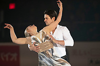 KELOWNA, BC - OCTOBER 24:  Ice Dance silver medalists Madison Hubbell and Zachary Donohue of the United States perform during the gala of Skate Canada International at Prospera Place on October 24, 2019 in Kelowna, Canada. (Photo by Marissa Baecker/Shoot the Breeze)