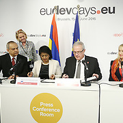 20160616 - Brussels , Belgium - 2016 June 16th -European Development Days - Bilateral Meeting - Bibi Ameenah Firdaus Gurib-Fakim - President, Republic of Mauritius - Neven Mimica - EU Commissioner for International Cooperation and Development © European Union