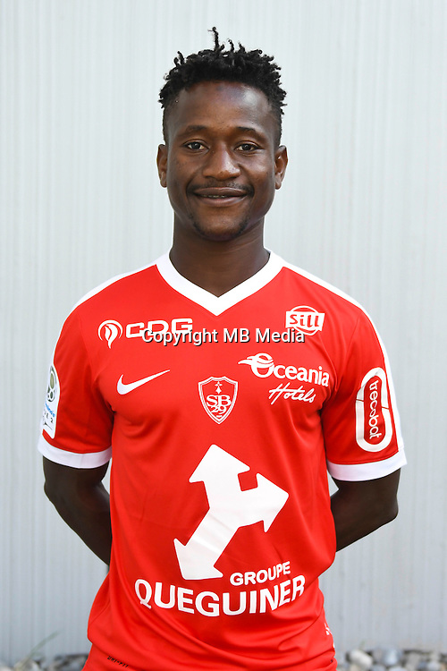 Cheick Doumbia of Brest during the Photo shooting of Stade Brestois in Brest on september 22th 2016<br /> Photo : Philippe Le Brech / Icon Sport