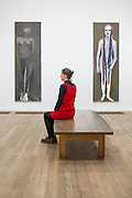 Magdalena (Queen of Spadws and Newman's Zip). A new exhibition of paintings by Marlene Dumas at the Tate Modern opens on 5th Feb. It is one of the most significant displays of her work ever to be held in Europe, bringing together over 100 of her most important and iconic figurative paintings from throughout her career. The three key items/sets are:  'Great Britain' – Dumas's powerful double portrait of Princess Diana and Naomi Campbell, on loan from a private collection; A group of Dumas's iconic large-scale portraits, including friends, family, figures from history and celebrities such as Amy Winehouse; 'Rejects' – a huge grid of 40 powerful black-and-white portrait paintings which Dumas has created over twenty years.