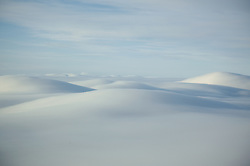 Clouds roll over the mountains of the Arctic Circle near Bettles, Alaska.