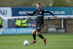 March 23, 2019 - Meadow, Shropshire, United Kingdom - Tom Naylor of Portsmouth FC on the ball  during the Sky Bet League 1 match between Shrewsbury Town and Portsmouth at Greenhous Meadow, Shrewsbury on Saturday 23rd March 2019. (Credit Image: © Mi News/NurPhoto via ZUMA Press)