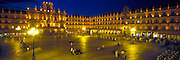 SPAIN, CASTILE, SALAMANCA Plaza Mayor; Churrigueresque style