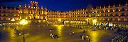 SPAIN, CASTILE, SALAMANCA Plaza Mayor; Churrigueresque style