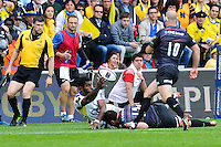 Noa NAKAITACI - 18.04.2015 - Clermont / Saracens - 1/2Finale European Champions Cup<br />