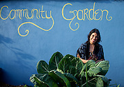 Los Angeles, California: Master Gardener Norma Bonilla helped found the Venice Community Garden (Photo: Ann Summa).