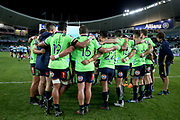 Highlanders after the match. Waratahs v Highlanders. 2018 Super Rugby round 14. Allianz Stadium, Sydney Saturday 19 May 2018. Photo Clay Cross / photosport.nz