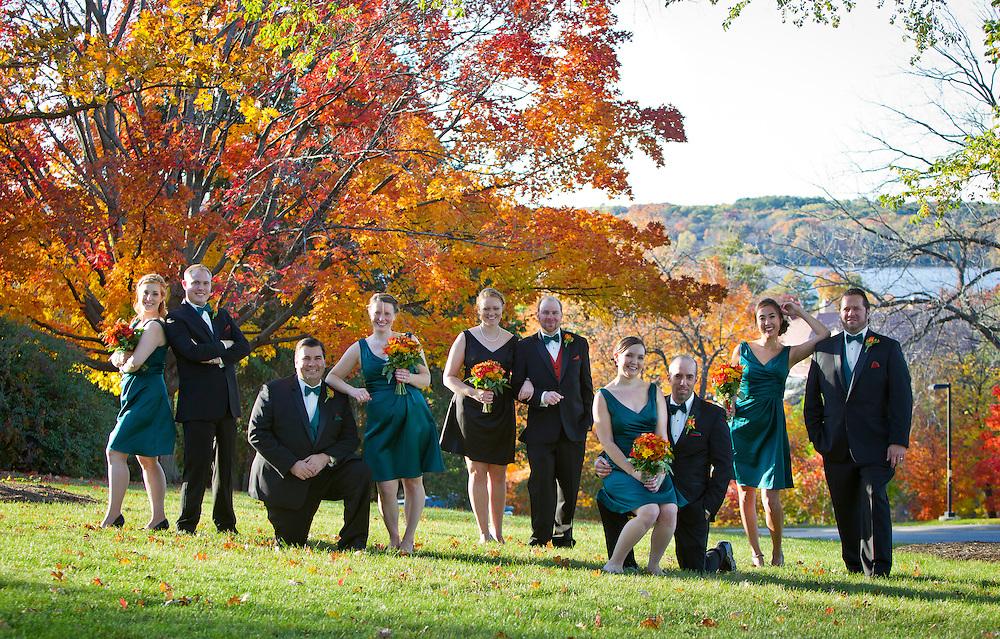 Joe Ricker and Colleen Chute wedding in Madison, WI, Saturday, October 18, 2014