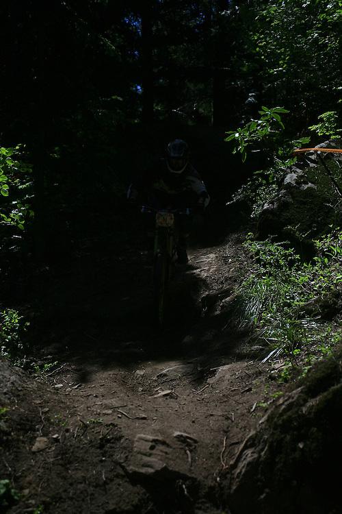 mountain bike races and freeriding