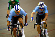 Men Madison, Kenny De Ketele and Robbie Ghys (Belgium) during the Track Cycling European Championships Glasgow 2018, at Sir Chris Hoy Velodrome, in Glasgow, Great Britain, Day 5, on August 6, 2018 - Photo luca Bettini / BettiniPhoto / ProSportsImages / DPPI<br /> - Restriction / Netherlands out, Belgium out, Spain out, Italy out -