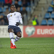 ANDORRA LA VELLA, ANDORRA. June 1. Kurt Zouma #15 of France in action during the Andorra V France 2020 European Championship Qualifying, Group H match at the Estadi Nacional d'Andorra on June 11th 2019 in Andorra (Photo by Tim Clayton/Corbis via Getty Images)