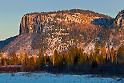 Sunset on Mt. McKay<br /> Thunder Bay<br /> Ontario<br /> Canada