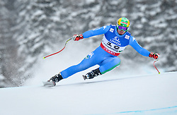 AUT, FIS Weltmeisterschaften Ski Alpin, Schladming 2013.09.02.2013, Planai, Schladming, AUT, FIS Weltmeisterschaften Ski Alpin, Abfahrt, Herren, im Bild Dominik Paris (ITA) // Dominik Paris of Italy in action during the mens Downhill at the FIS Ski World Championships 2013 at the Planai Course, Schladming, Austria on 2013/02/09. EXPA Pictures © 2012, PhotoCredit: EXPA/ sportbild. se/ Nisse Schmidt ***** ATTENTION - OUT OF SWE *****