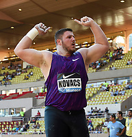 Joe Kovacs of United States competes and wins in Shot Put Men during the International Athletics Meeting Herculis, IAAF Diamond League, Monaco on July 17, 2015 at Louis II  stadium in Monaco, France - Photo Jean-Marie Hervio / KMSP / DPPI